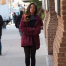 Malia Obama Arriving at the Weinstein Company in NY - 454 x 610