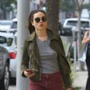 Crystal Reed Shops in Beverly Hills, CA 3/3/2016 - 454 x 589