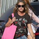 Denise Richards – Shopping at Malibu Country Mart in Malibu - 454 x 681