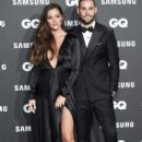 Mario Suarez and Malena Costa- GQ Men Of The Year Awards 2018 In Madrid - 400 x 600