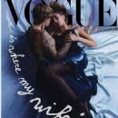 Hailey Baldwin and Justin Bieber - Vogue Magazine Cover [Italy] (October 2020)