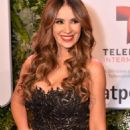Catherine Siachoque- Telemundo NATPE Party Red Carpet Arrivals