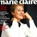 Meryl Streep - Marie Claire Magazine Cover [Germany] (January 1991)