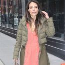 Jordana Brewster – Arrives at AOL Build Series in NYC - 454 x 681
