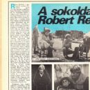Robert Redford - Rakéta Regényújság Magazine Pictorial [Hungary] (25 October 1988)