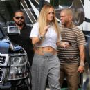 Jennifer Lopez – Arrives to shoot a video with DJ Khaled in Miami - 454 x 625