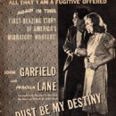 Dust Be My Destiny - Screen Guide Magazine Pictorial [United States] (October 1939)