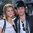 "Alex O'Loughlin And Holly Valance arrive at the ""Speed Racer"" world premiere at the Nokia Theatre on April 26, 2008 in Los Angeles"