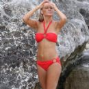 Lara Bingle - Bikini Shoot Candids - December 15, 2009