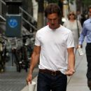 Matthew McConaughey on the set of 'The Wolf of Wall Street' (August 27)