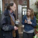 Left to Right: David Bradley as Ronnie and Lesley Manville as Mary. Photo by Simon Mein (c) Thin Man Films Ltd., Courtesy of Sony Pictures Classics
