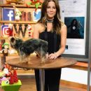 Kate Beckinsale on The Set Of Univision's 'Despierta America' - 358 x 600