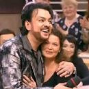 Filipp Kirkorov and Maria Shatlanova