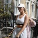 Perrie Edwards – Walking her dog in London - 454 x 637