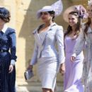 Priyanka Chopra and  Abigail Spencer :  Prince Harry Marries Ms. Meghan Markle - Windsor Castle
