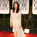 Jessica Biel arrives at the 69th Annual Golden Globe Awards held at the Beverly Hilton Hotel on January 15, 2012 in Beverly Hills