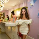 Demi Rose – Feya Cafe Launch Party in London