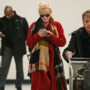 Jenny McCarthy Arrives At Los Angeles International Airport