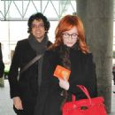 Christina Hendricks at LAX Airport - February 4, 2011