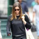 Jessica Biel - In NYC After Yoga - June 11, 2010