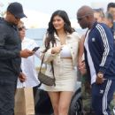 Kylie Jenner – Heads to lunch in Malibu