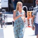 Claire Danes On the set of 'A Kid Like Jake' in Brooklyn