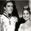 Audrey Hepburn and Mel Ferrer in War and Peace (1956)