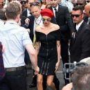 Cara Delevingne Arrives at the Magnum Beach in Cannes