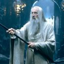 Christopher Lee as the evil Saruman in New Line's The Lord of The Rings: The Fellowship of The Ring - 2001
