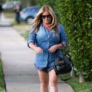 Nicole Eggert Street Style Out and About In Los Angeles