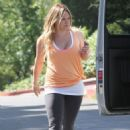 Hilary Duff: in West Hollywood
