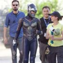 Evangeline Lilly – Filming Ant-Man And The Wasp in Atlanta