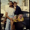 Kathleen Kinmont and Lorenzo Lamas