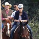 Justin Bieber Horse Riding with Friends (February 1, 2013)