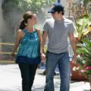 Jennifer Love Hewitt And Ross McCall Walk On The Streets Of Burbank, June 28 2008 - 454 x 584