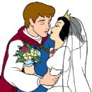 Snow White and Prince Charming - 454 x 532
