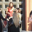 Alexandra Daddario – Arriving at the Wallis Annenberg Center in Los Angeles