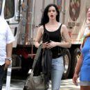 Krysten Ritter – On set of 'Jessica Jones' in New York - 454 x 775