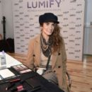 Nikki Reed – Beauty Bar featuring LUMIFY Redness Reliever Eye Drops in NY - 454 x 393