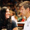 Jürgen Melzer and Mirna Jukic