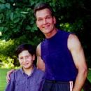 Jack Salvatore Jr. and Patrick Swayze