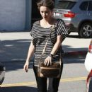 Jennifer Love Hewitt out and about in Los Angeles (11/09/10)