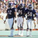 Dan Hampton, William Perry, Richard Dent, Wilber Marshall & Steve McMichael Of The Feared Bear Defense Of '85