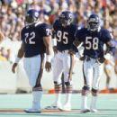 Dan Hampton, William Perry, Richard Dent, Wilber Marshall & Steve McMichael Of The Feared Bear Defense Of '85