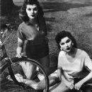 Lisa Gaye and Debra Paget