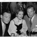 Boots Mallory and Herbert Marshall with Gary Cooper