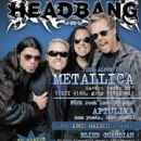 Robert Trujillo, Lars Ulrich, Kirk Hammett, James Hetfield - Headbang Magazine Cover [Turkey] (April 2007)