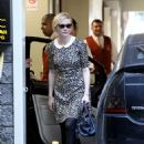 Kirsten Dunst Arriving at a Meeting in Beverly Hills