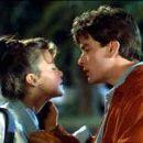 Charlie Sheen and Sherilyn Fenn