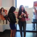 Dulce María in the event of T-Mobile brand in Houston, USA (14/01/12)